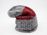 100% акриловый смешанный Ab Yarned Striped связанный шлем