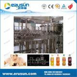 Máquina tampando de enchimento do refresco automático