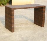 Barra Uv-Resistente do Rattan da mobília ao ar livre popular do jardim do projeto ajustada por Cadeira &Table para 6-10person (YT172)