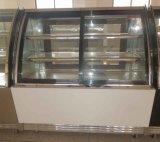 パン屋Marble Base SandwichかCake Showcase RefrigeratorのセリウムApprovel