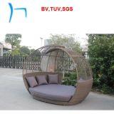 F -屋外の柳細工の家具の藤Sunbed (CF1464H)