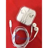 Новым регулятор звука Earbuds шлемофона Pin молнии 8 прибытия связанный проволокой наушником на iPhone 7 & 6s
