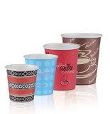 Singel Copa de papel de pared, desechables de papel taza de café