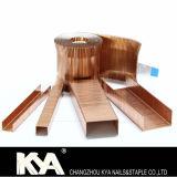 Karton-Abschluss-Heftklammern (Kupfer 3518) für das Verpacken