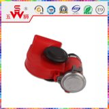 Noir ou Red Snail Horn Disk Electric Horn