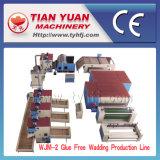 Nonwoven машины Wjm-2, клеят свободно производственную линию ватина
