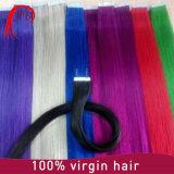 Выдвижение волос кератина Remy девственницы людское Pre обеспеченный облигациями