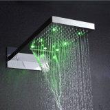 Sistema de lujo de la ducha de lluvia de la cascada de la función del acero inoxidable dos