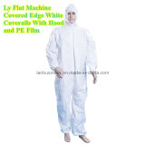 Ly Disposable Flat Machine Covered Edge Coverall