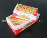 Ailes de poulet et récipient de papier imprimés de fritures
