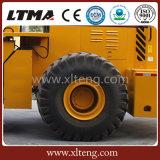 Ltma高いQuanlity 40tの大きいフォークリフトの車輪のローダー