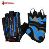 Deportes que amortiguan respirables de la manera que montan guantes