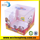 Caja de embalaje plástica transparente clara del PVC/rectángulo de empaquetado para la ropa