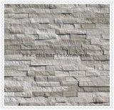 Chinesisches Grau-aufgeteilter Marmor für Wand-Fliesen