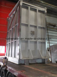 Secagem composta do fertilizante, sistemas refrigerando, cambista de calor inteiramente soldado da placa