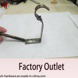Suporte plástico do indicador do ferro de Rod de cortina do suporte da tubulação (ZH-8113)