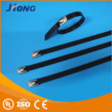 Plastic Coated 316 Steel Ladder Ties Metal Cable Ties