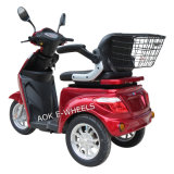 500With700W Motor Disabled Three Wheel Electric Mobility Scooter (TC-022)