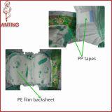O OEM marca o bebê barato superior tecido descartável