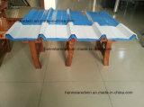 أعاد [هت ينسولأيشن] [شنس] 4 طبقة [بفك] يغضّن سقف بلاستيكيّة