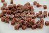 Haustier-Zubehör-Nahrung- für Haustierequadrierte die zahnmedizinische Behandlung-Hundenahrung, die Imbiß kaut, geformte Stücke mit Rindfleisch-Aroma