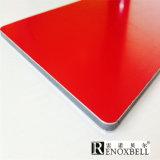 Los paneles compuestos de aluminio populares que construyen los paneles de pared externos