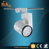 L'enveloppe de PVC de prix usine Non-Clignotent lumière de piste de DEL