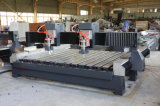 O dobro dirige o gravador de pedra do CNC