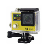 H. 264 Video QualityおよびWiFi 2.4G Remote Waterproofとの2インチLtps LCD 4k Sports Action Camera