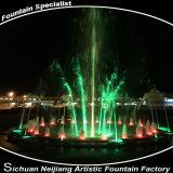 Piccola fontana invisibile del cerchio