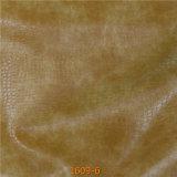 Cuir Abrasion-Résistant à niveau élevé de Microfiber de peau de pétrole pour le sofa de meubles de bateau