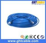 cabo de correção de programa de 15m Almg RJ45 UTP Cat5/cabo da correção de programa