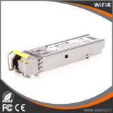 Совместимый модуль 1000Base-BX 1550nm Tx/1310nm Rx 20km SFP BIDI оптически с DDM