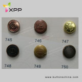 11.25mm 4 Hole New Style Metal Button Colorful Button