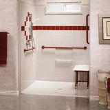 Инвалид поливают место туалета места квадратное