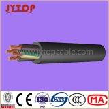 N2xshの中型の電圧ケーブル、XLPEの絶縁体、PVC外装の銅ケーブル
