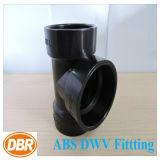 Тройник сброса Dwv 4 ABS размера дюйма подходящий