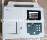 Monitor paciente aprovado de Ce/ISO, 3 canaleta EKG, máquina de ECG (EM03)