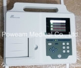 Ce/ISO anerkanntes Patienten-Überwachungsgerät, 3 Kanal EKG, ECG Maschine (EM03)