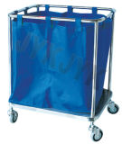 Waste Collectingのための上塗を施してあるSteel Medical Trolley