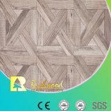 suelo laminado impermeable de la teca de la textura de la viruta de 8.3m m E1 HDF AC3 HDF