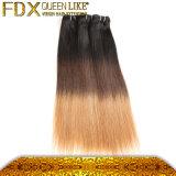 2016 معزق يبيع [إيندين] إنسانيّة عذراء شعر إمتدادات [3ت] لون [ستريغت هير]