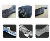 靴甲革の靴の中敷パターン彫版のための二重ヘッド二酸化炭素レーザー機械