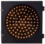 Diamètre jaune rond 200mm de lumière de feux de signalisation de rue 8 pouces