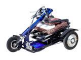 самокат удобоподвижности батареи лития 48V 3 выведенный из строя колесом электрический
