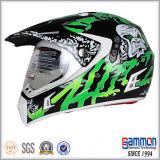 레몬 녹색 Motorcross 직업적인 빛나는 헬멧 (CR407)