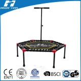 "55 "" Elastic Rope Instead of SpringのHexigonal Mini Trampoline"