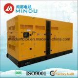 Generador silencioso inferior del diesel de Weichai 250kVA de la consumición de combustible