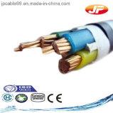 cable de transmisión aislado XLPE de cobre del conductor 300/500V