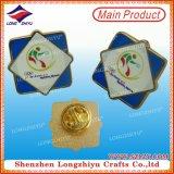 Honigbiene-Metallpin-Abzeichen-Silber und hartes Decklack-Abzeichen